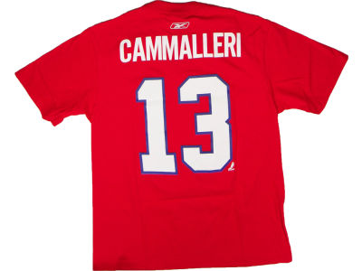 Montreal Canadiens Michael Cammalleri Reebok NHL Men's Player T-Shirt