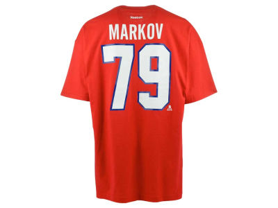 Montreal Canadiens Andrei Markov Reebok NHL CN Player T-Shirt