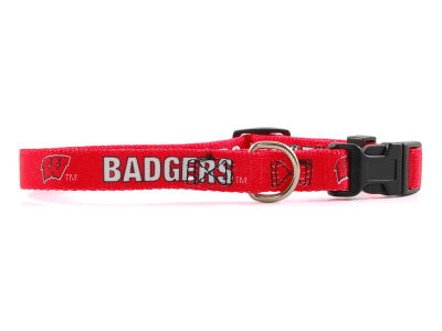 Wisconsin Badgers Small Dog Collar