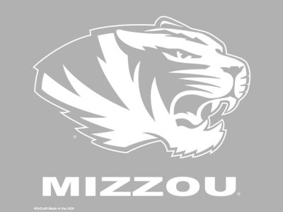 Missouri Tigers Decal 18x18