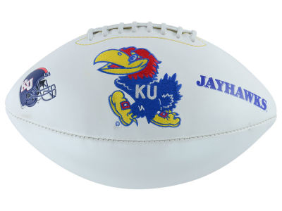 Kansas Jayhawks Autograph Football