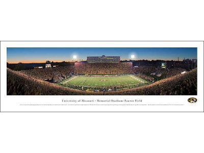 Missouri Tigers Panoramic Unframed