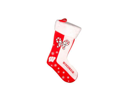 Wisconsin Badgers Team Logo Stocking