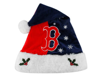 Boston Red Sox Team Logo Santa Hat