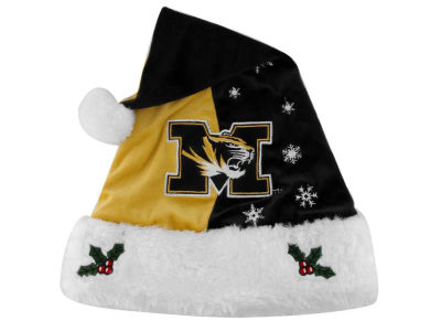 Missouri Tigers Team Logo Santa Hat