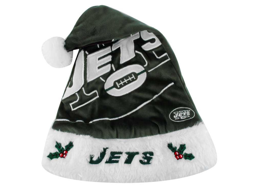 3ed60a0fcd7d1 ... cheapest new york jets team logo santa hat a9150 c4bd4