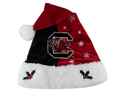 South Carolina Gamecocks Team Logo Santa Hat