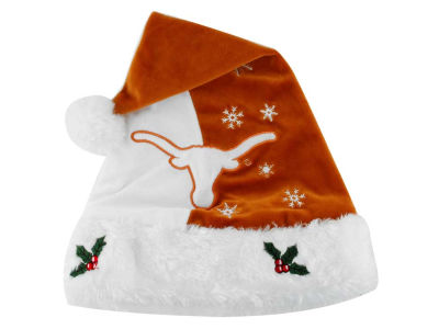 Texas Longhorns Team Logo Santa Hat