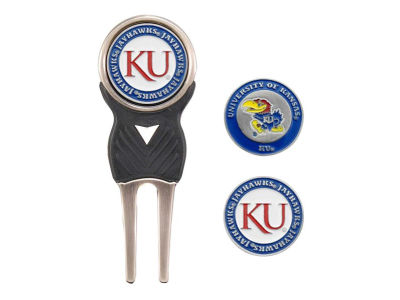 Kansas Jayhawks Divot Tool and Markers
