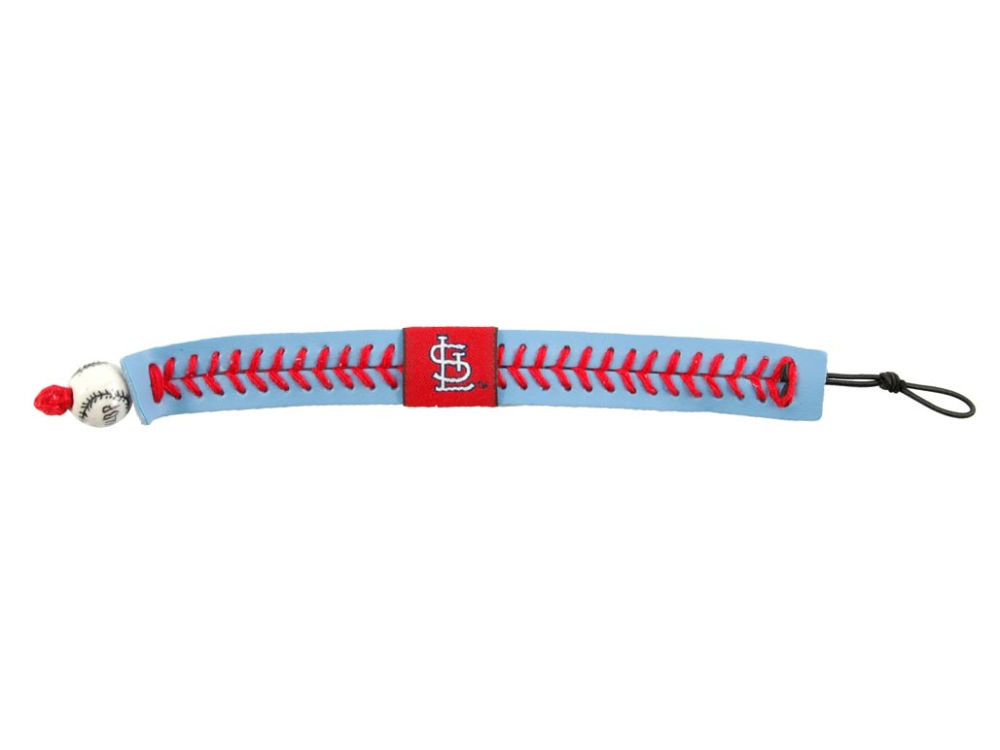 St Louis Cardinals Team Color Baseball Bracelet