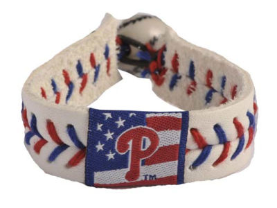 Philadelphia Phillies MLB Stars and Stripes Game Wear Bracelet