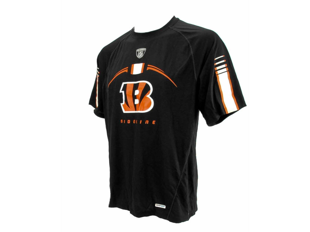 Cincinnati Bengals Reebok NFL Gun Show Equipment T-Shirt  28622c384
