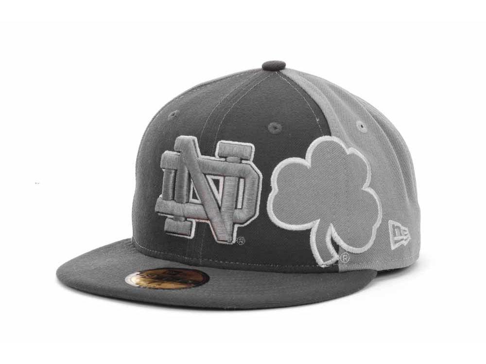 9ca7b8709cf Notre Dame Fighting Irish New Era NCAA Sidefill 59FIFTY Cap