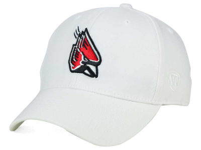 Ball State Cardinals Top of the World NCAA White PC Cap