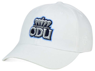 Old Dominion Monarchs Top of the World NCAA White PC Cap