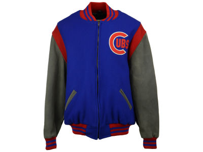 Chicago Cubs adidas MLB Men's Wool Jacket