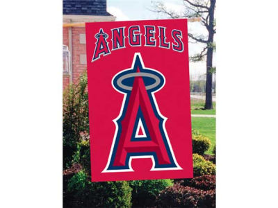 Los Angeles Angels Applique House Flag