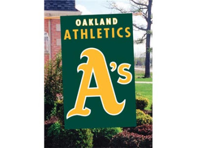 Oakland Athletics Applique House Flag