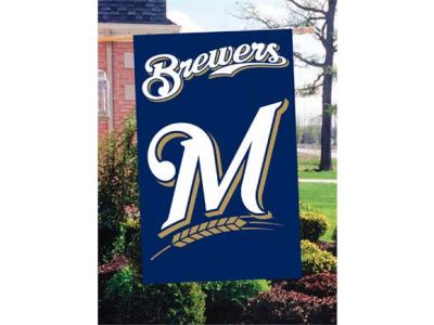 Milwaukee Brewers Applique House Flag