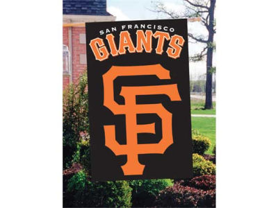 San Francisco Giants Applique House Flag