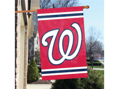 Washington Nationals Applique House Flag