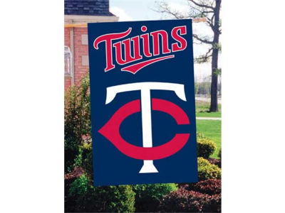 Minnesota Twins Applique House Flag