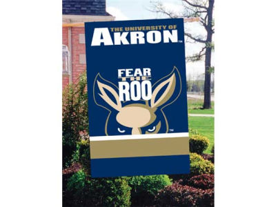 Akron Zips Applique House Flag