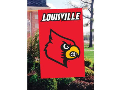 Louisville Cardinals Applique House Flag