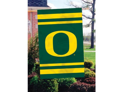 Oregon Ducks Applique House Flag