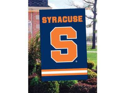 Syracuse Orange Applique House Flag