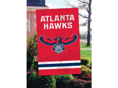 Atlanta Hawks Applique House Flag