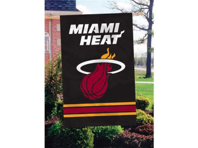 Miami Heat Applique House Flag