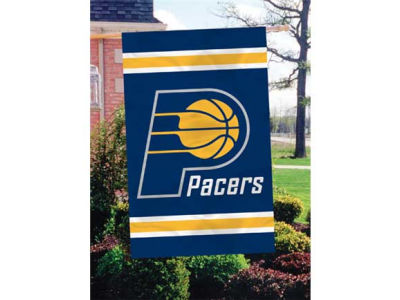 Indiana Pacers Applique House Flag