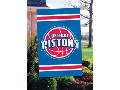 Detroit Pistons Applique House Flag