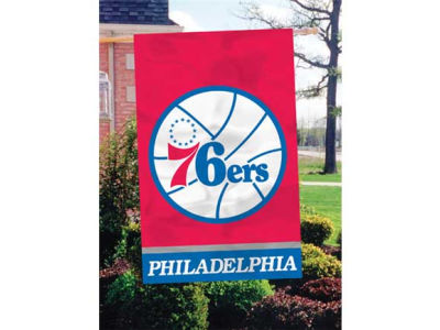 Philadelphia 76ers Applique House Flag