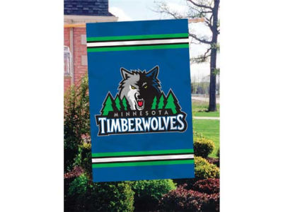 Minnesota Timberwolves Applique House Flag