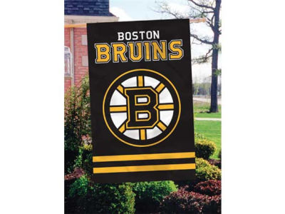 Boston Bruins Applique House Flag