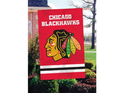 Chicago Blackhawks Applique House Flag