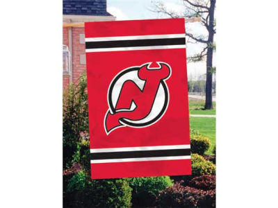 New Jersey Devils Applique House Flag