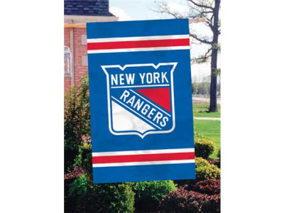 New York Rangers Applique House Flag