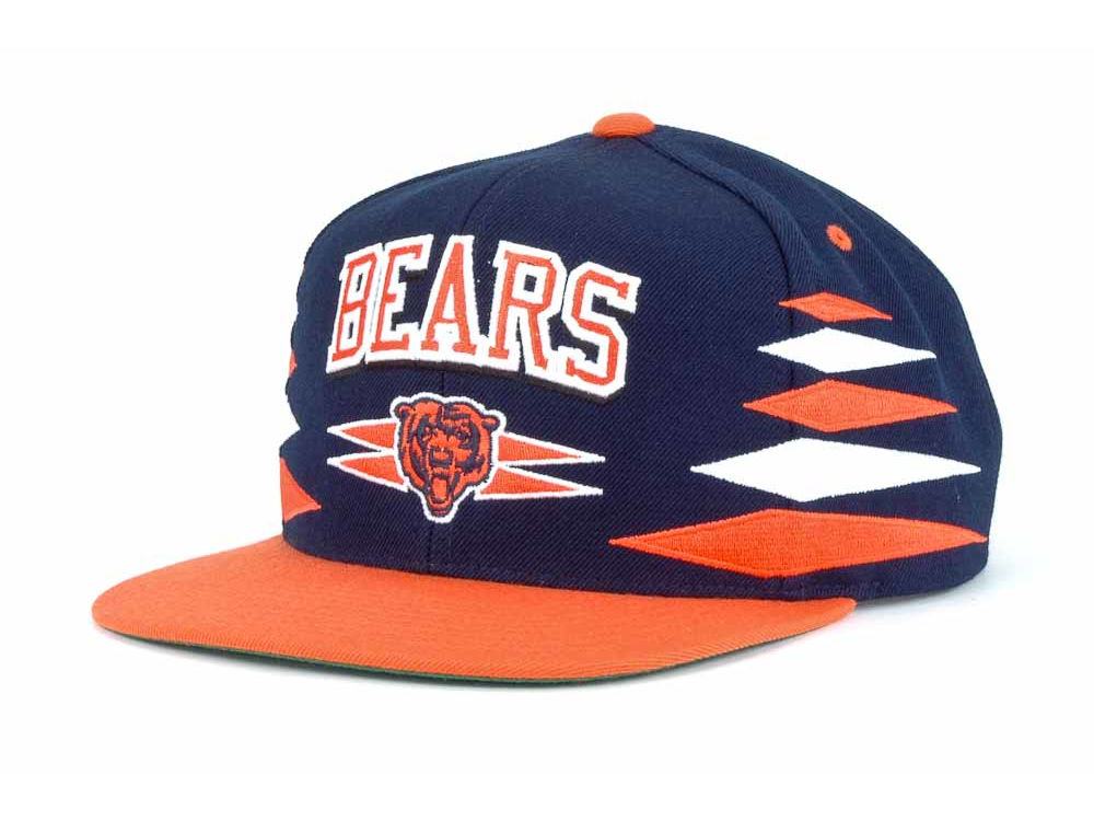 4e321d0d6db Chicago Bears Mitchell   Ness Mitchell and Ness NFL Diamond Snapback Cap