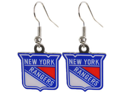 New York Rangers Logo Earrings