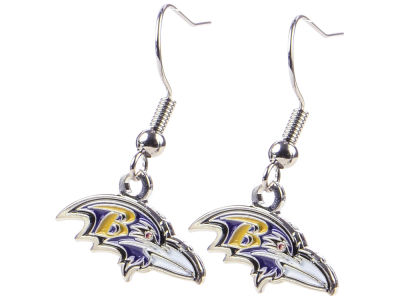 Baltimore Ravens Logo Earrings