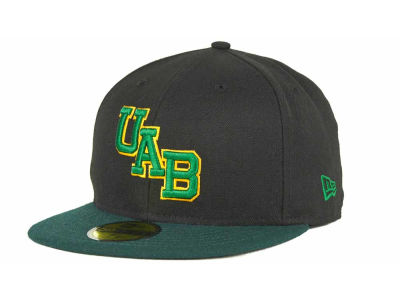 Alabama Birmingham Blazers New Era NCAA 2 Tone 59FIFTY Cap