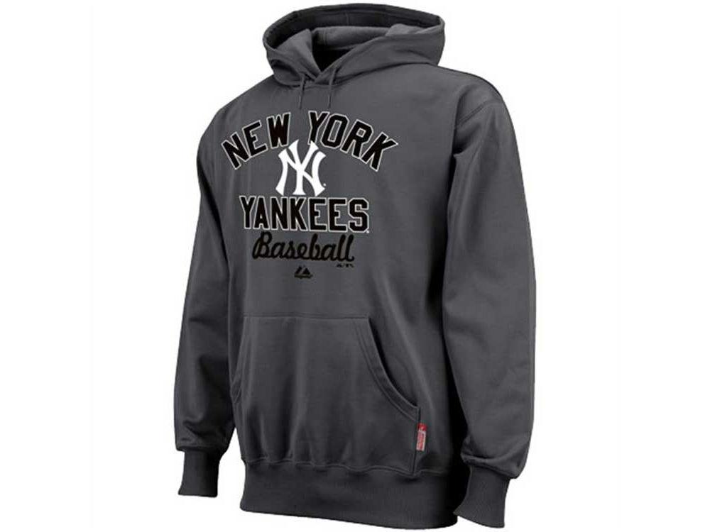 New York Yankees Majestic MLB Men s Sharp Game Therma Base Hoodie ... 954cfe7e1f1