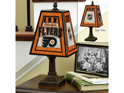 Philadelphia Flyers Art Glass Table Lamp