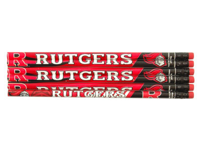 Rutgers Scarlet Knights 6-pack Pencils