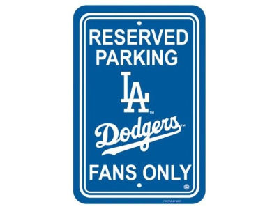 Los Angeles Dodgers Parking Sign