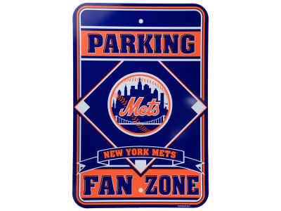 New York Mets Parking Sign