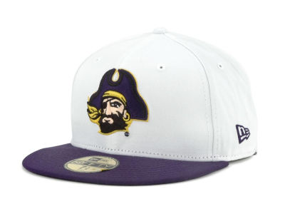East Carolina Pirates New Era NCAA White 2 Tone 59FIFTY Cap